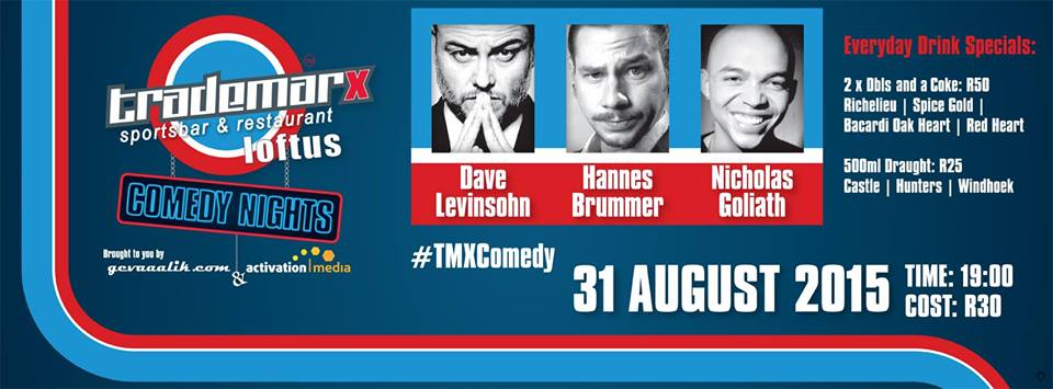 Trademarx Comedy Nights