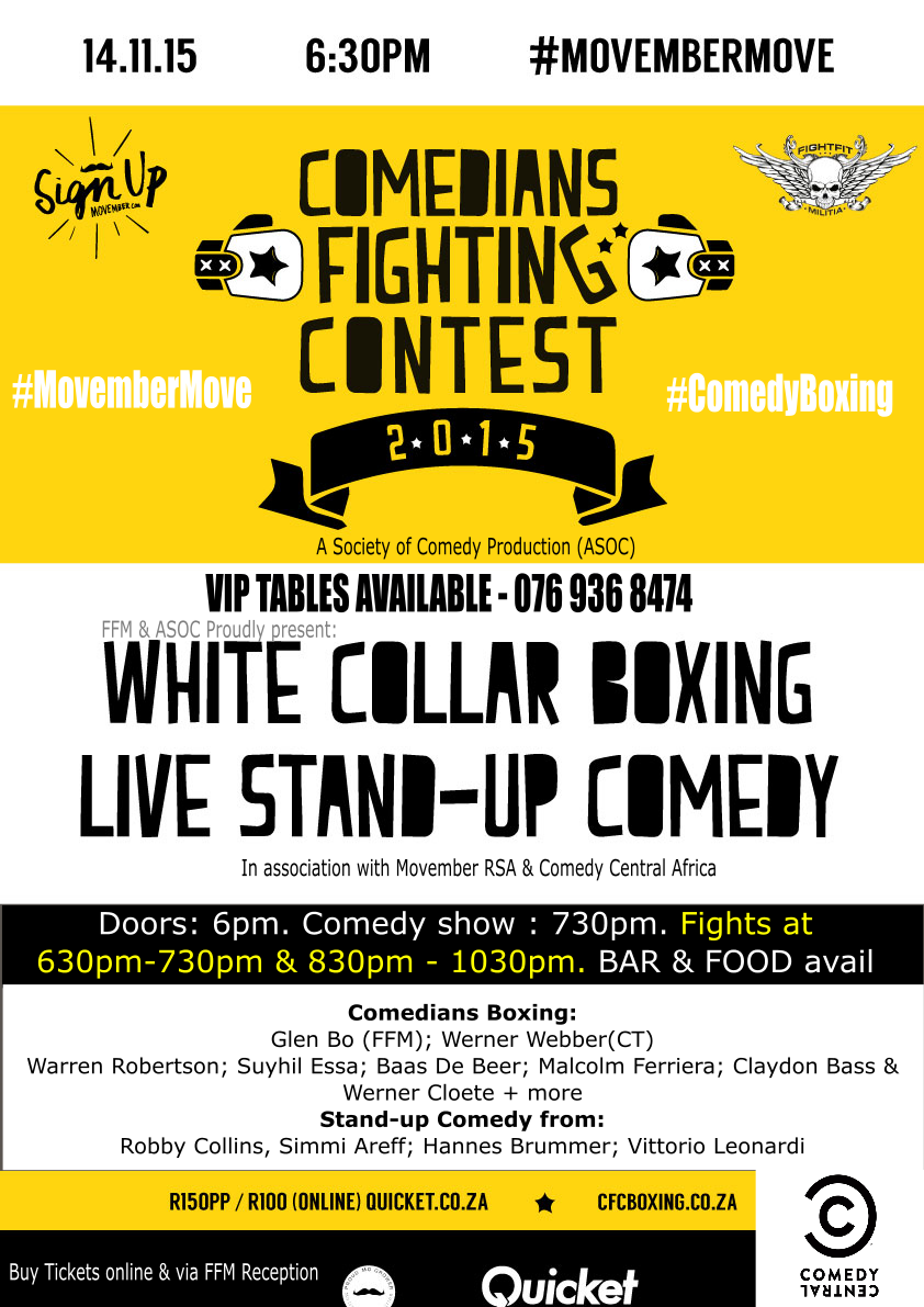 CFC - Comedians Fighting Contest