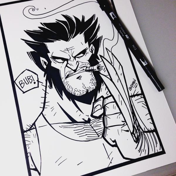 Random Gevaaalikhede 20151018 Wolverine Derek Laufman
