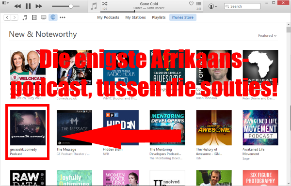 gevaaalik.comedy Podcast op iTunes