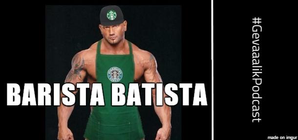 gevaaalik.comedy podcast #53 - Barista Batista
