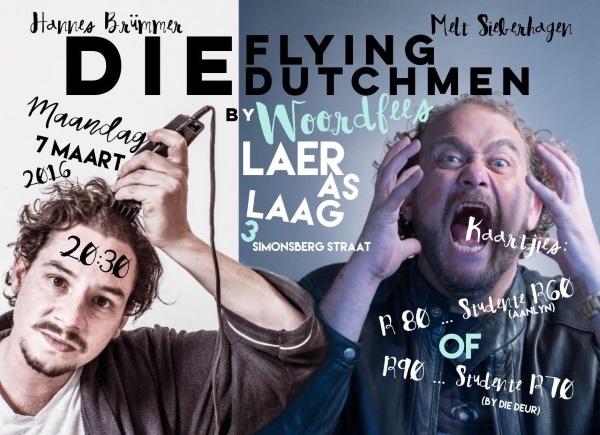 Die Flying Dutchmen Woordfees
