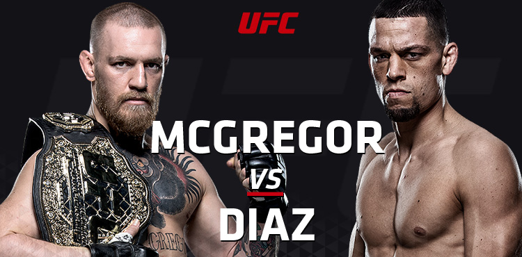 UFC 196 McGrogor vs Diaz