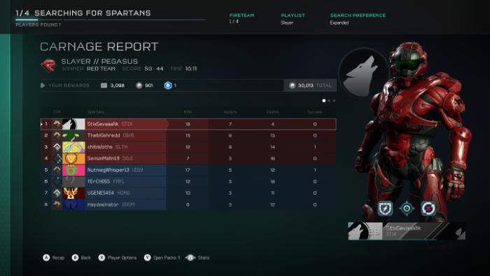 Halo 5 wanneer dit nie so sleg gaan nie
