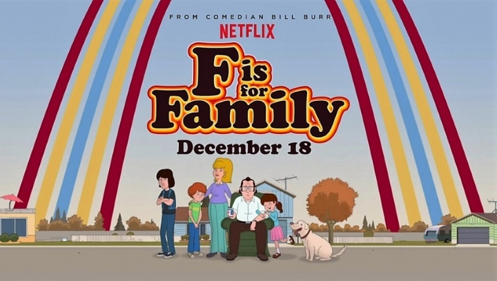 F is For Family Netflix South Africa