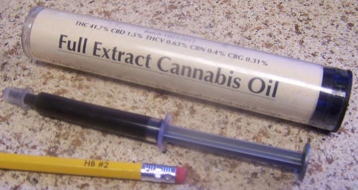 mediese dagga word gebruik vir die maak van dagga-olie