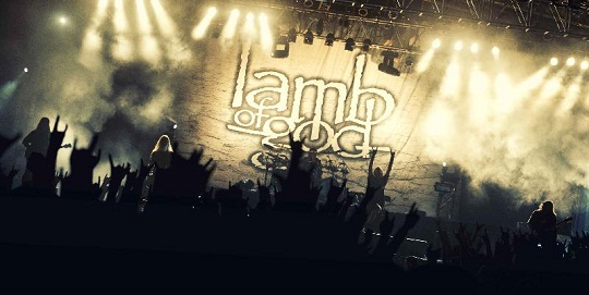Lamb of God Live in South Africa