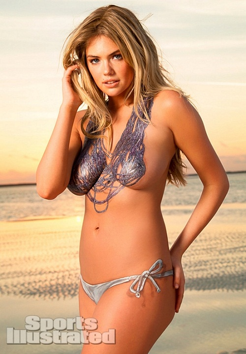 Kate Upton body paint bikini (11)