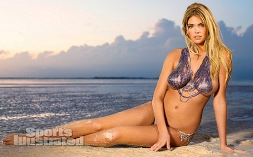 Kate Upton body paint bikini (14)