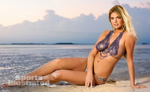 Kate Upton body paint bikini (17)
