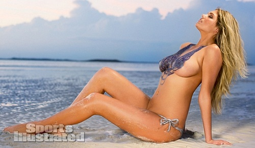 Kate Upton body paint bikini (3)