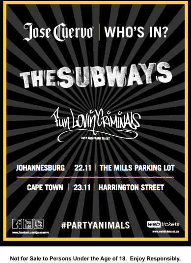 The Subways South Africa