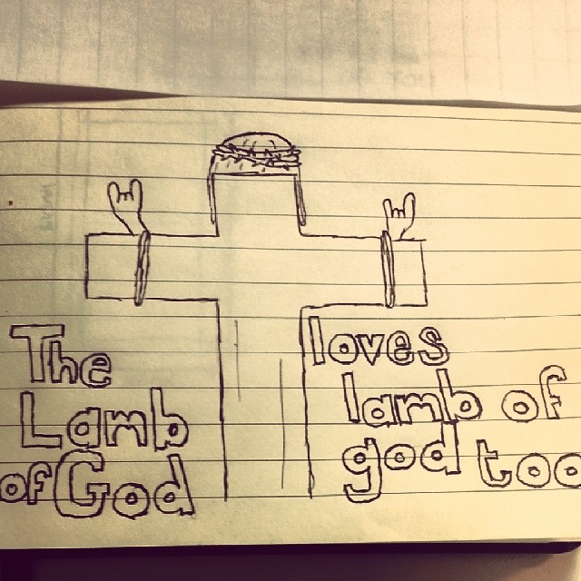 ...just like he loves us all.