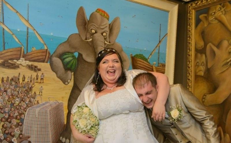 Crazy Russsian Wedding Pics (19)