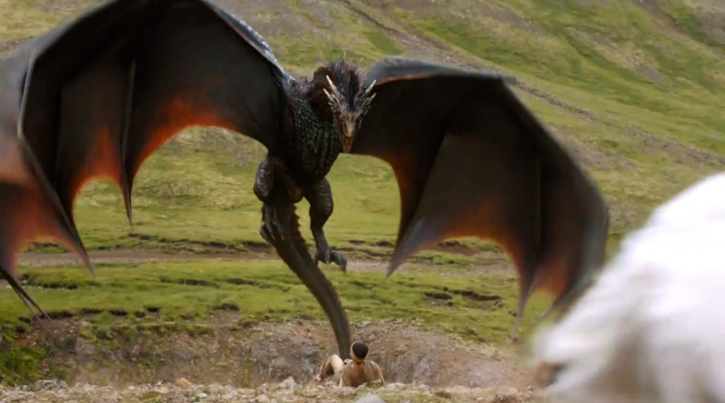 Game of Thrones season 4 dragon