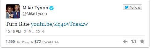 Mike Tyson Tweets the Black Keys