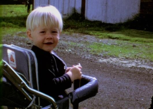 Kurt Cobain as child