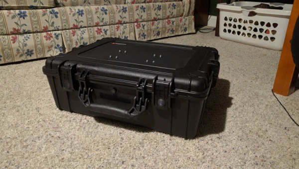 Custom made console travel case (2)