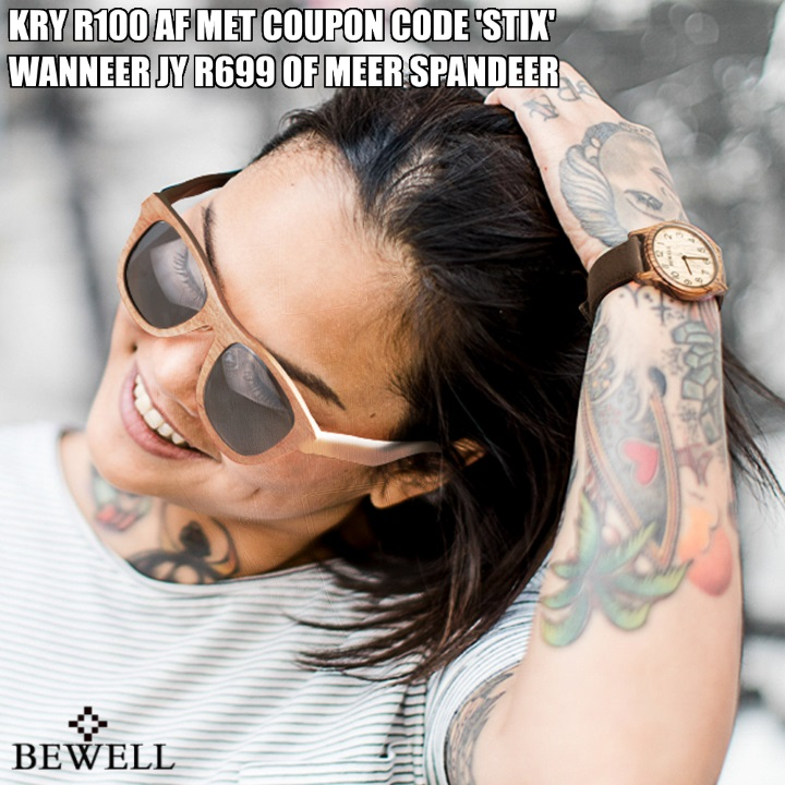 Bewell SA Wooden watches and sunglasses