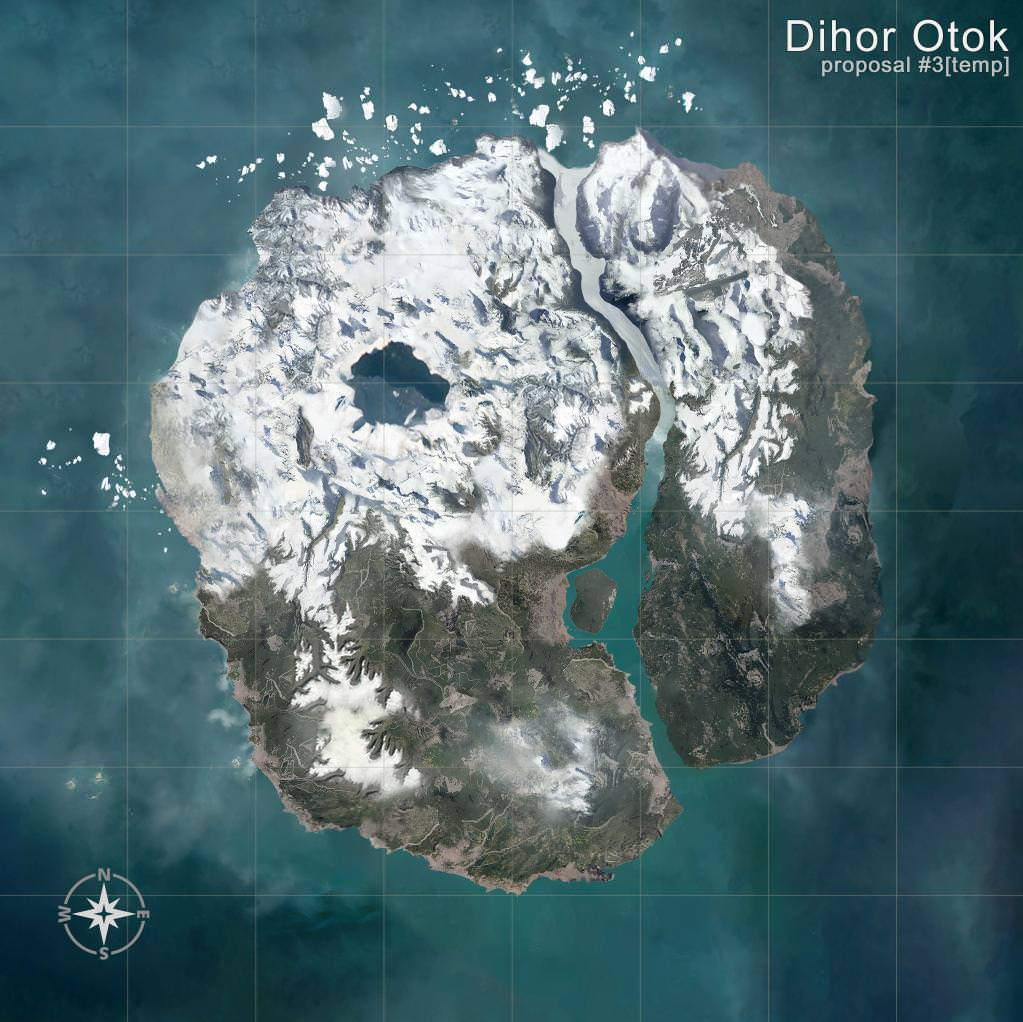 New PUBG Snowmap